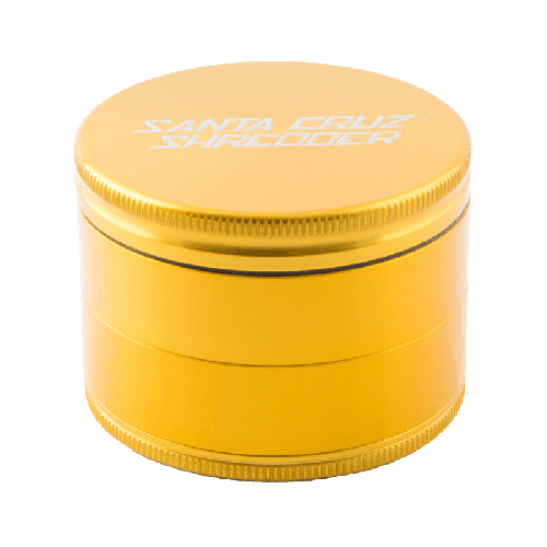 Santa Cruz Shredder 4 Piece Grinder Gold