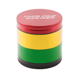 Santa Cruz Shredder 4 Piece Grinder Rasta