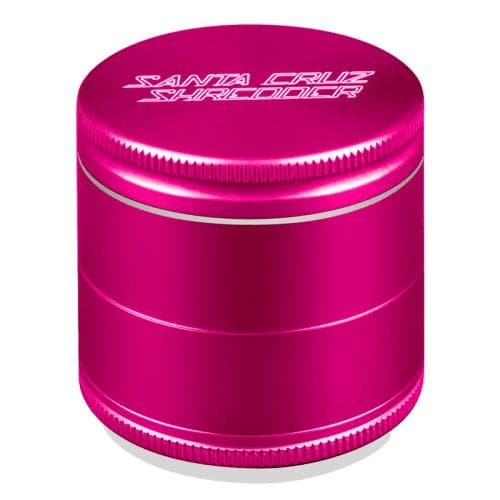 Santa Cruz Shredder 4 Piece Grinder Pink