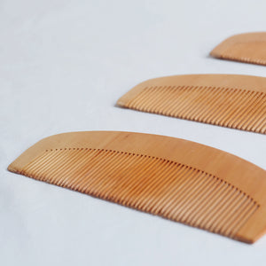 Wooden Comb by 3's