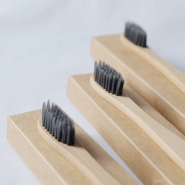 Bamboo toothbrush by 3's