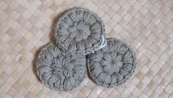 Bamboo Cotton Rounds (Small)