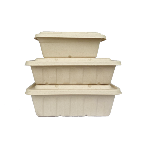 1250ml Sugarcane Bagasse Party Tray Food Container