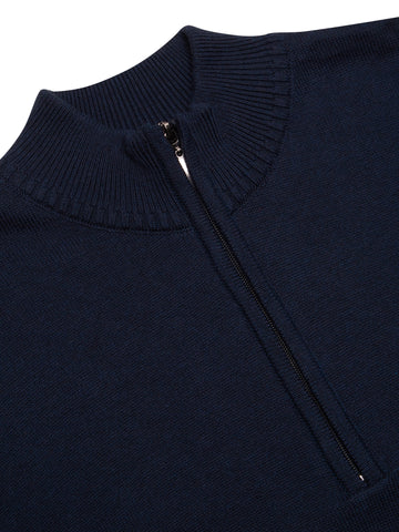 Zip Jumper  Navy D&G