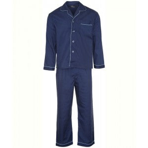 Mens Navy Pyjamas