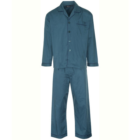 Mens Teal Pyjamas