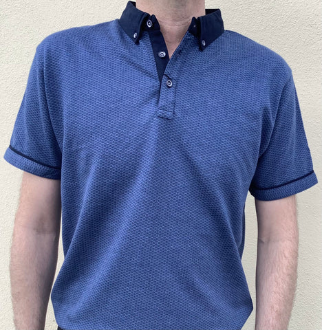 Lizard King Polo Shirt - Navy