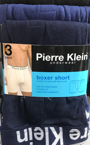 3 Pack cotton boxer short