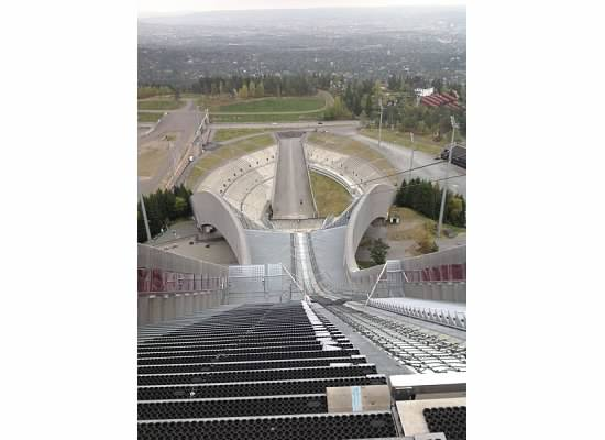 Oslo ski jump stadium, Oslo, Norway