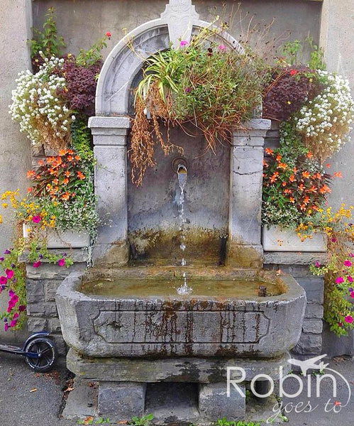Fountain, Interlaken, Switzerland
