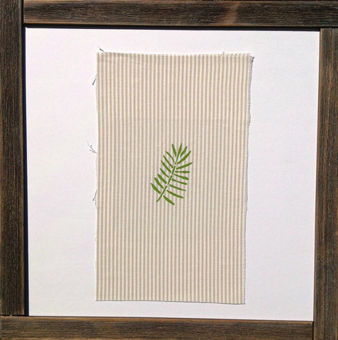 Handmade art, Purakaunui Falls Collection- Green Leaves