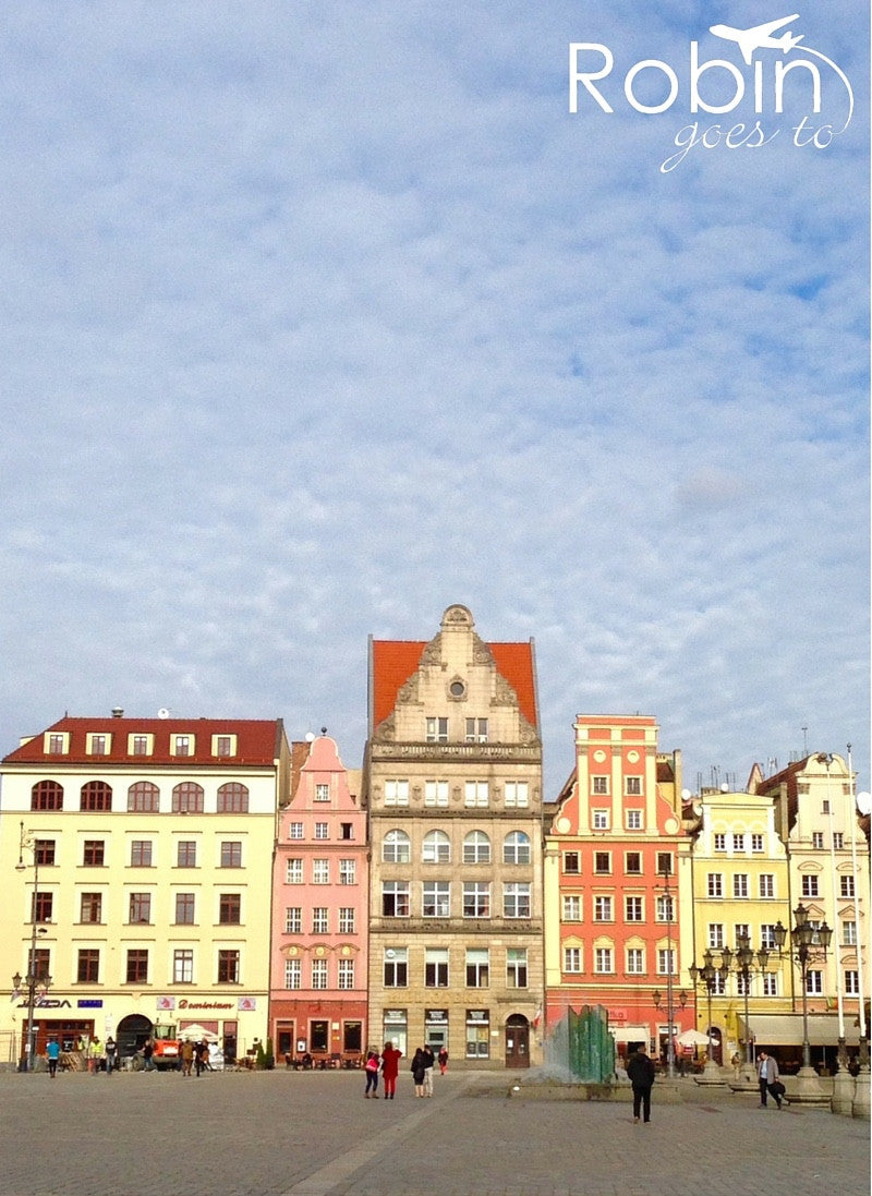 Poland- Wroclaw (Pastels)