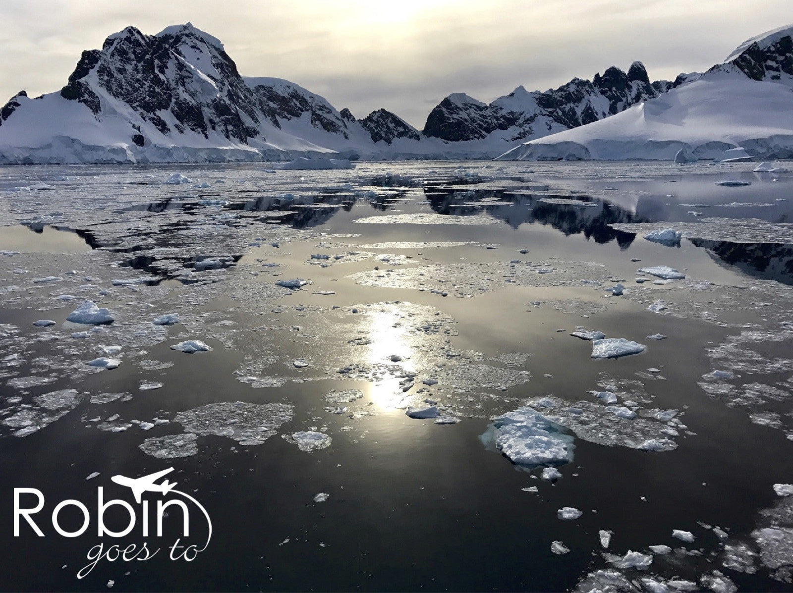 Antarctica- Brash Ice Morning