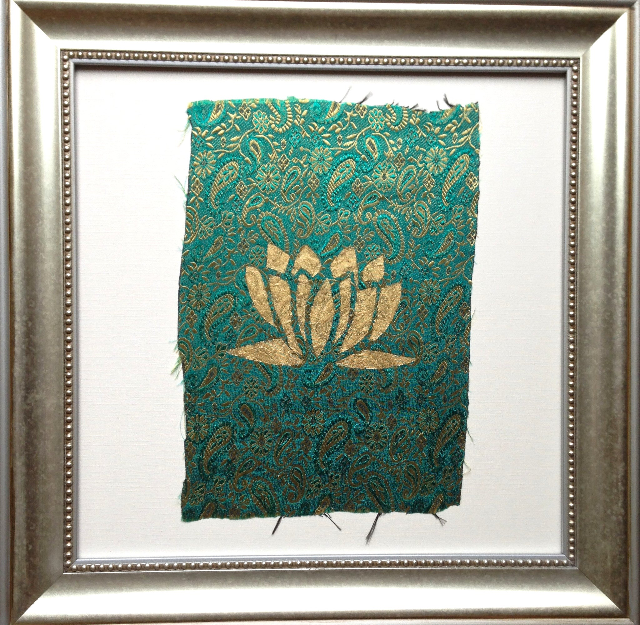 Handmade art, Bali Collection- Lotus (Green)