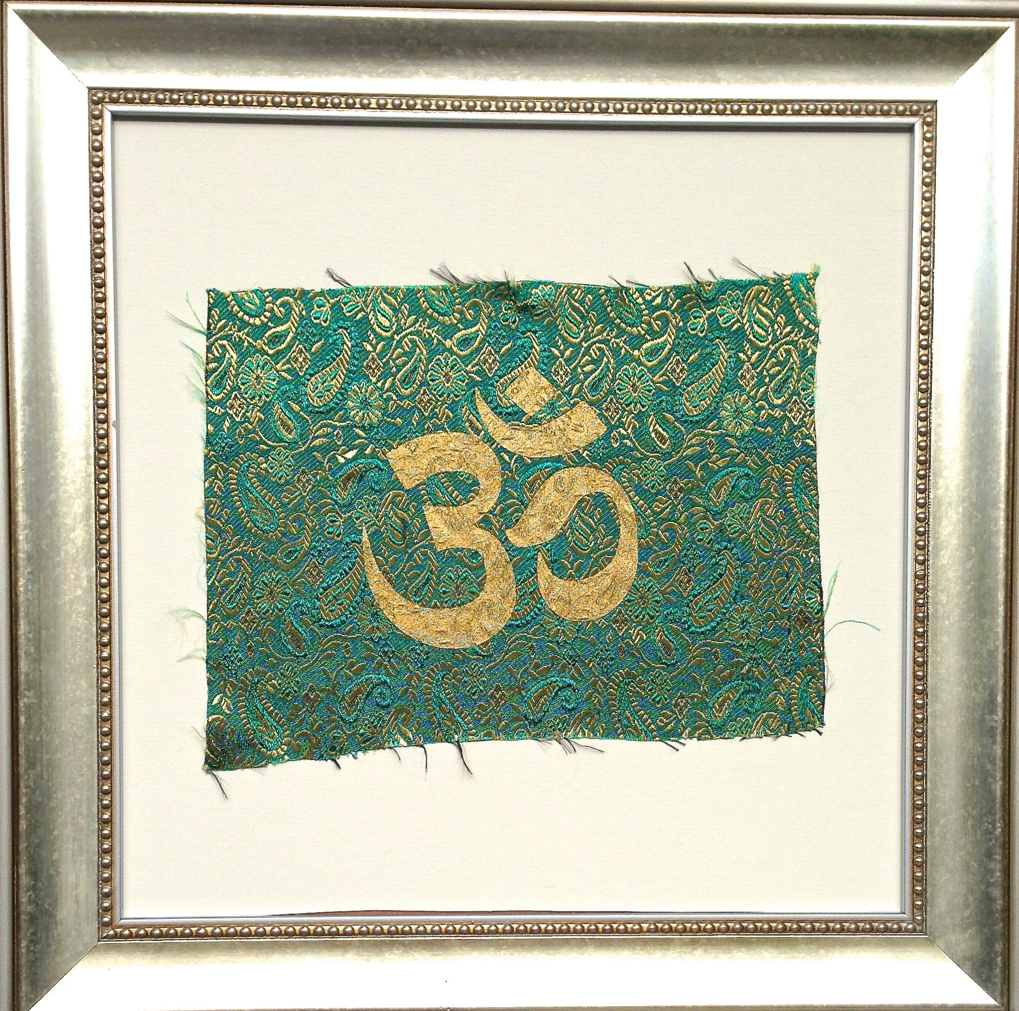 Handmade art, Bali Collection- Om (Green)