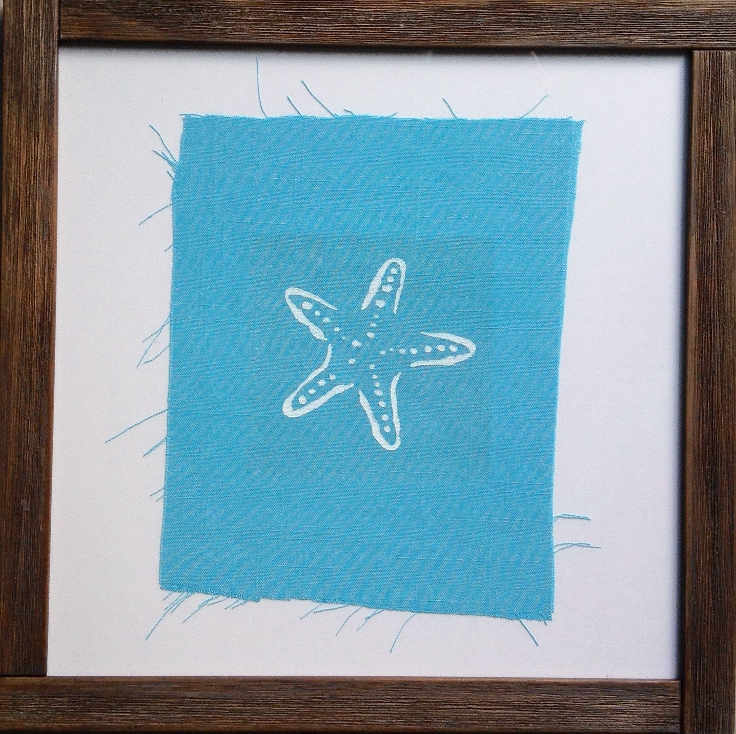 Handmade art, Cathedral Cove Collection- Starfish