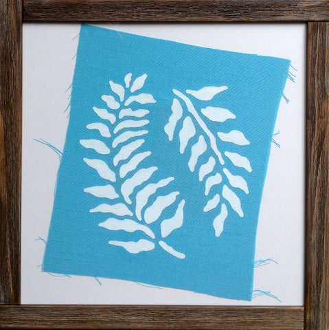 Handmade art, Cathedral Cove Collection- Kelp leaves