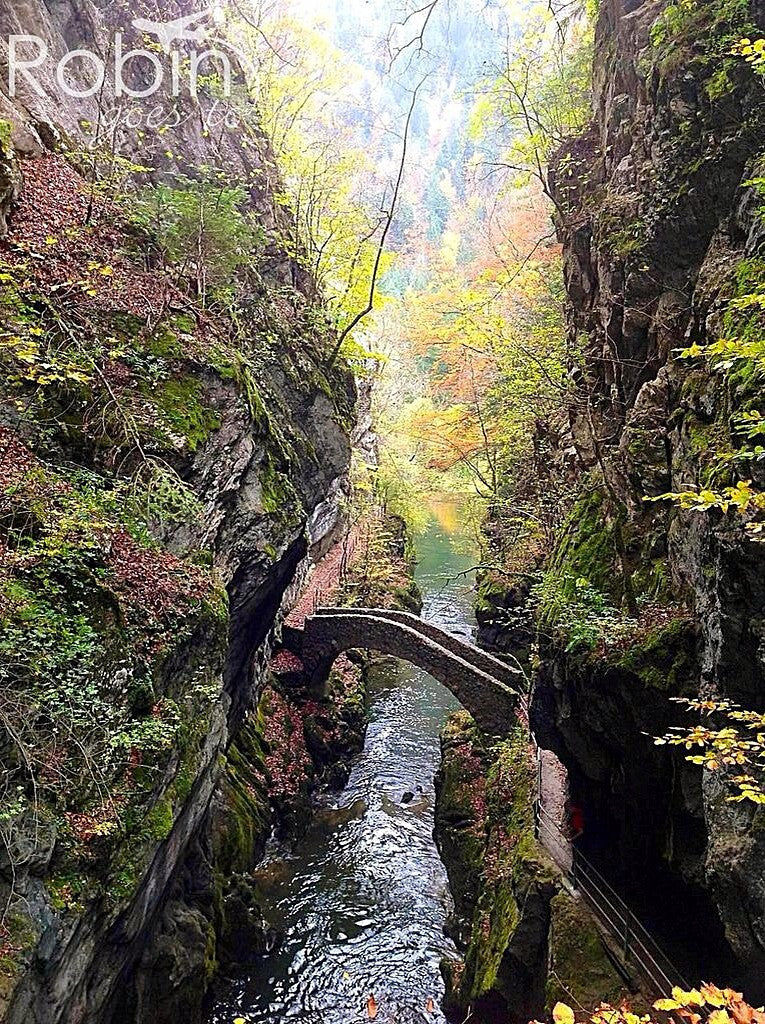 Areuse Gorge, Switzerland