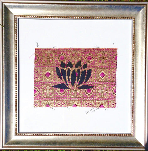 Indonesia- Bali Collection- Framed Wall Print- Lotus (Purple Reverse)