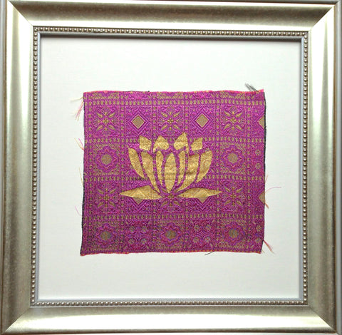 Handmade art, Bali Collection- Lotus (Purple)