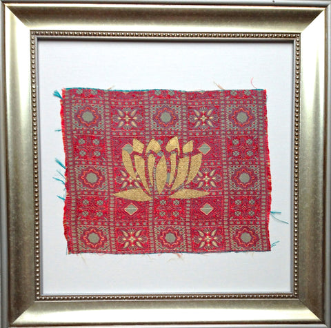 Handmade art, Bali Collection- Lotus (Red)