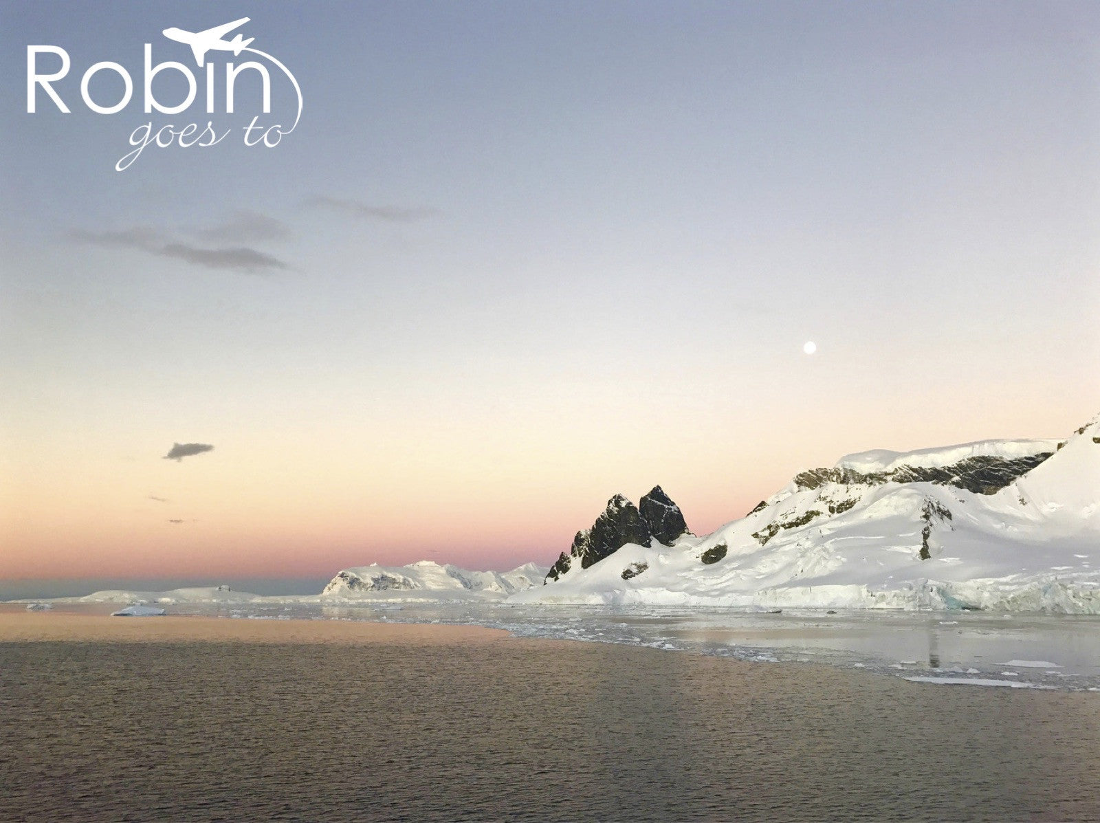 Antarctica- Sunset