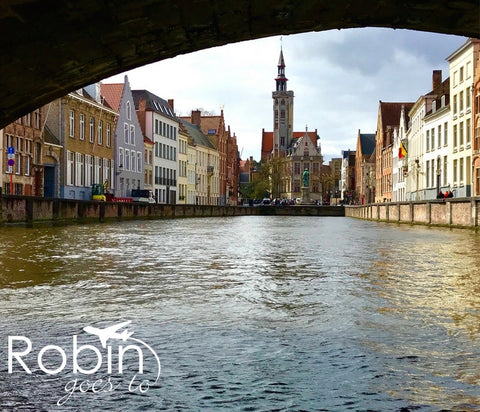 Belgium- Bruges- Under the Bridge