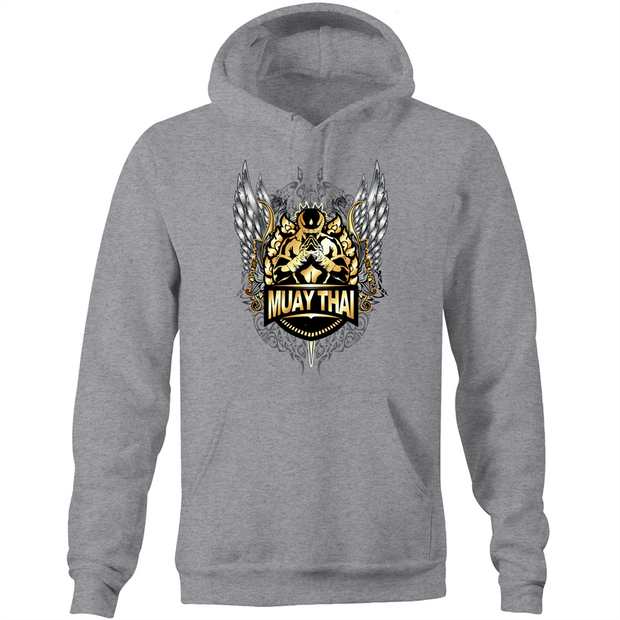 Muay Thai Respect  - Pocket Hoodie Sweatshirt
