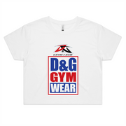 D&G Gym Wear - Womens Crop Tee