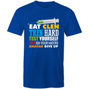 Tren and Clen Funny Bodybuilding Quote - Mens T-Shirt