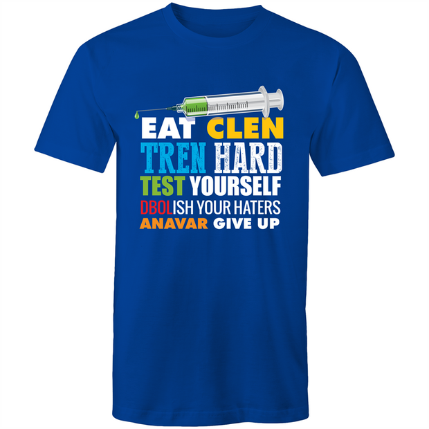 Bodybuilding Quote - Mens T-Shirt