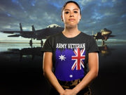 Australian Army Veteran - Womens T-shirt