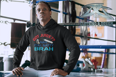 Full Natty Brah - Pocket Hoodie Sweatshirt
