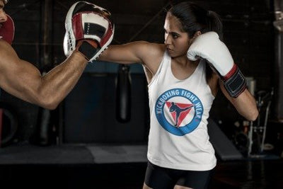 Kickboxer Fight Wear - Womens Singlet