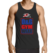 D&G Gym Wear - Mens Singlet Top