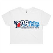 D & G Fight Wear  - Womens Crop Tee