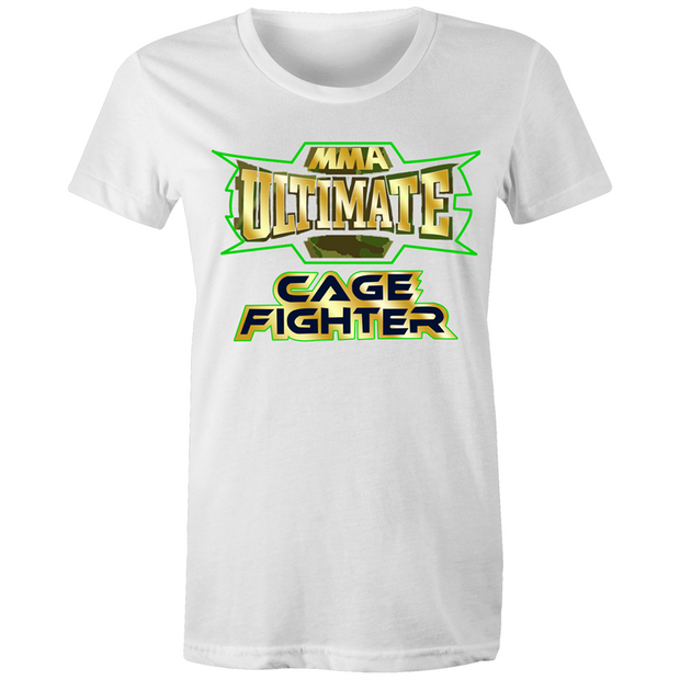 CAGE FIGHTER - Womens T-shirt