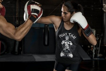 Muay Thai - Womens Singlet