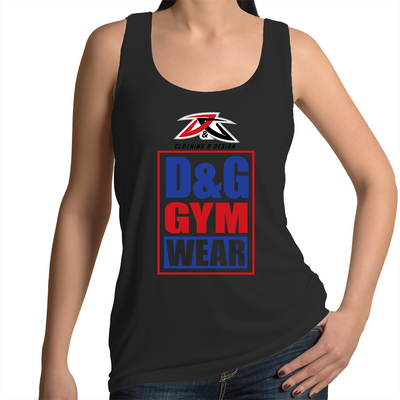D&G Gym Wear - Womens Singlet