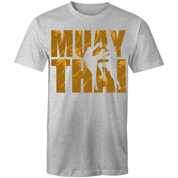 Muay Thai Gold - Mens T-Shirt