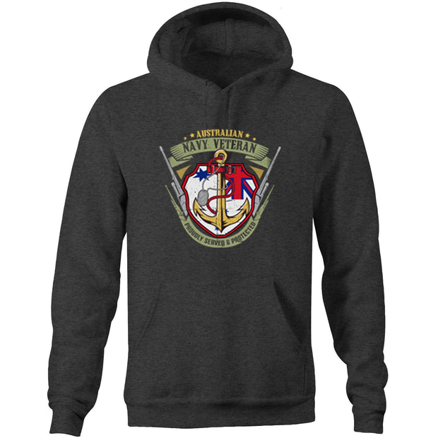 Royal Australian Navy Veteran - Women's Pocket Hoodie Sweatshirt