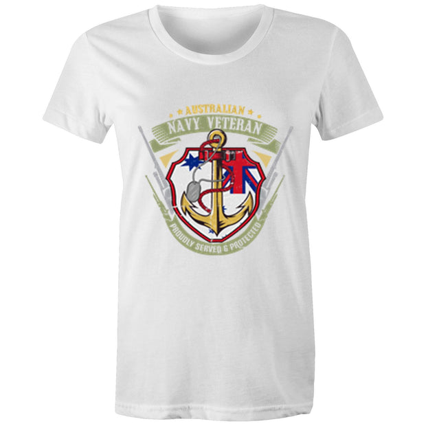 Royal Australian Navy Veteran - Womens T-shirt