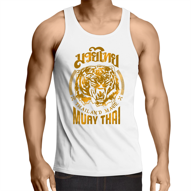 Muay Thai Thailand Made - Mens Singlet Top