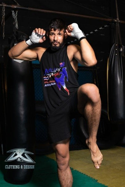 Ring Fighter Australia - Mens Tank Top Tee