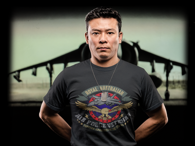 R.A.A.F Veteran - Mens T-Shirt