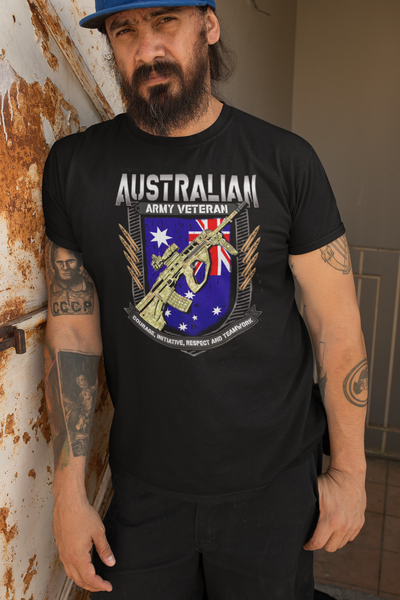 Australian Army Veterans - Mens T-Shirt