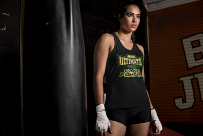 CAGE FIGHTER - Womens Singlet