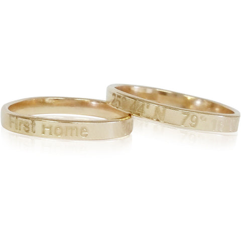 Lat & Lo™ Journey Ring - Lat & Lo™ - 1