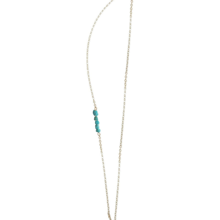 Stone Accent Lat & Lo™ Necklace - Lat & Lo™ - 3