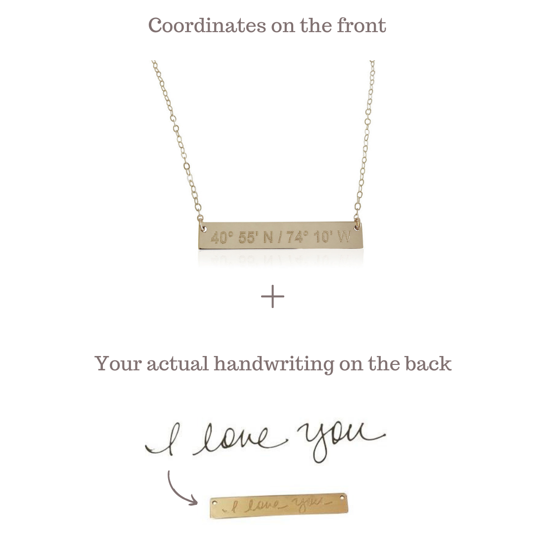 LUXE Love Notes Necklace | 14K